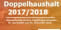 Doppelhaushalt 2016/2017