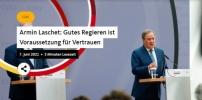 Armin Laschet: Gutes Regieren ist Voraussetzung für Vertrauen