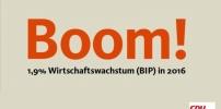 Es boomt und boomt und boomt: Wirtschaft eilt von Rekord zu Rekord
