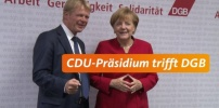 Spitzengespräch von CDU-Präsidium und DGB-Bundesvorstand