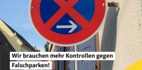 PM: CDU-Gemeinderatsfraktion für mehr Kontrollen wegen zunehmendem Falschparken