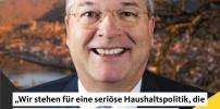 CDU steht für eine seriöse Haushaltspolitik