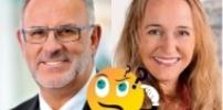 Stadträte Nicole Marme und Werner Pfisterer hören zu!