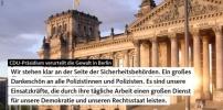 CDU-Präsidium verurteilt die Gewalt in Berlin
