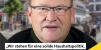 CDU für konstruktive und vorausplanende Haushaltspolitik