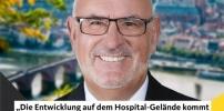 Hospital Gelände, Fortschritte gut erkennbar!