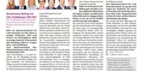 Bürgerentscheid Landesankunftszentrum: Gemeinsamer Beitrag von CDU, Heidelberger, FDP, FWV