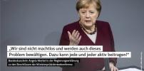 Angela Merkel: Ziel ist und bleibt der gesellschaftliche Zusammenhalt
