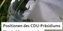 Positionen des CDU-Präsidiums für ein klimaneutrales Deutschland